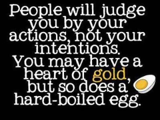 True Actions Speak Your Heart
