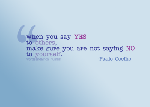 Saying No-Can You Do It? « Simply DanLrene
