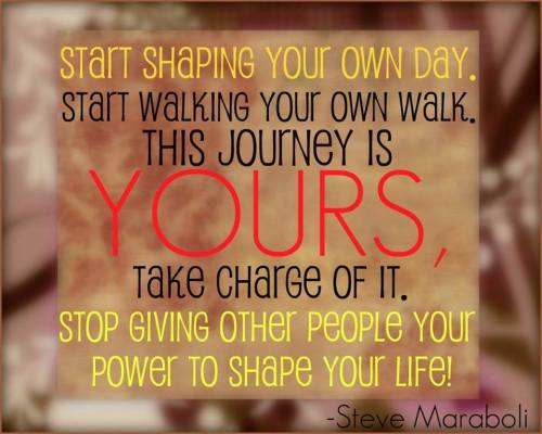 walk your own journey