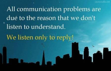 listen to reply