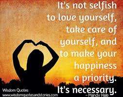 not selfish