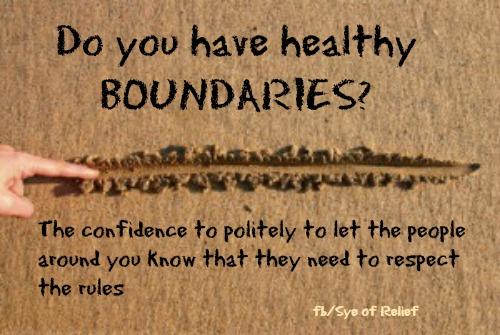 boundaries